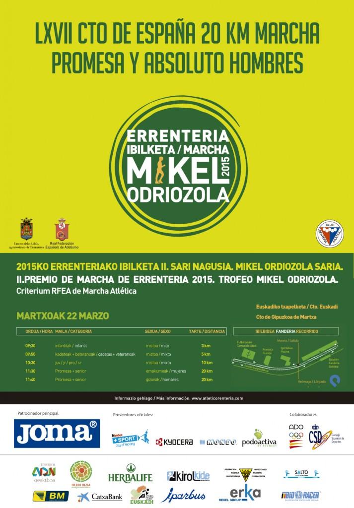 cartel MARCHA MIKEL ODRIOZOLA FINAL
